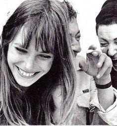Jane Birkin smile