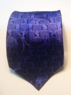 Mickey Mouse Mens Neck Tie Necktie Walt Disney World 100% Silk Hand Silhouette