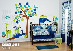 Kids Wall Decal Wall Sticker tree decal  The Land of by KinkyWall, $168.00