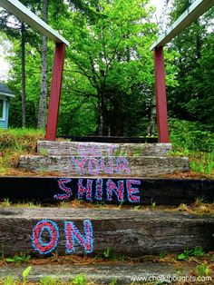 """Get your shine on"" - Florida Georgia Line"