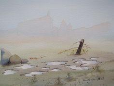 Mist near Mirabeau, Provence,France