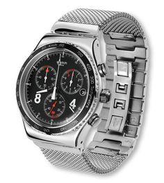 BLACKIE (YVS401G) - Irony Chrono Swatch.