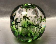 Orrefors Graal vase designed by Edward Hald for Orrefors