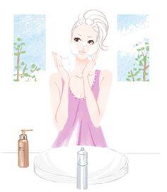 【web】アットコスメ キャンペーンページ|ミヤモトヨシコのガールズイラスト