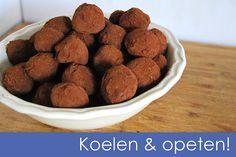 Belgian chocolate truffels