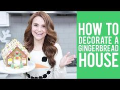 How to Assemble a Gingerbread House - YouTube