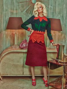visual optimism; fashion editorials, shows, campaigns & more!: superior interiors: alyona subbotina by sandrine dulermo and michael labica for how to spend it 16th april 2015
