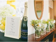 Bar Signage | A San Francisco Wedding at Fort Mason General's Residence by onelove photography via StyleUnveiled.com