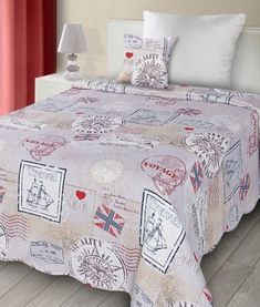 luxusne-obojstranne-patchwork-prehozy-kremovej-farby Comforters, Quilts, Blanket, Bed, Home, Scrappy Quilts, Creature Comforts, Stream Bed, Quilt Sets