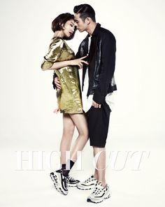 Go Joon Hee and Beenzino - High Cut Magazine Vol.130