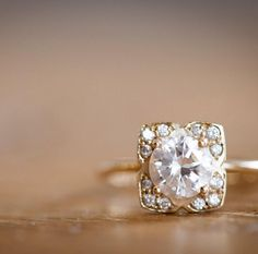 The Orchid Engagement Ring. From our bridal line.