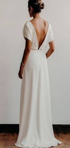 New Wedding Dresses Simple Straight 18 Ideas - New Wedding Dresses Simple Strai., New Wedding Dresses Simple Straight 18 Ideas - New Wedding Dresses Simple Straight 18 Ideas Source by noforgetter -. Wedding Dress Trends, Sexy Wedding Dresses, Modest Wedding Dresses, Elegant Wedding Dress, Bridal Dresses, Wedding Simple, Wedding Ideas, Wedding Decorations, Romantic Lace