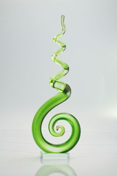 Features:  -Material: Hand blown glass.  -Handmade.  -Contemporary style.  Product Type: -Sculpture.  Style: -Contemporary.  Subject: -Abstract and shapes.  Handmade: -Yes.  Primary Material: -Glass.