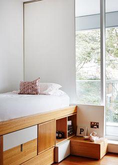 bed storage space