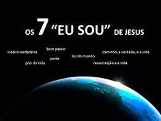 "SÉRIE OS SETE ""EU SOU"" DE JESUS / ""EU SOU A RESSURREIÇÃO E A VIDA"" Dear Lord, My Lord, Jesus Coming Back, Jesus Is Alive, Jesus Freak, Cool Names, God Is Good, Christianity, Spirituality"