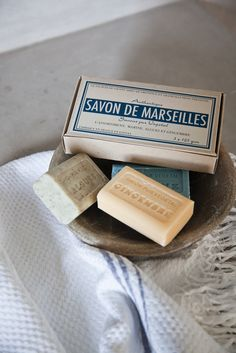 French Soap Gift Box from Cox & Cox. Still the best soap ever!