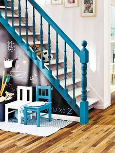coloured banisters - Google Search