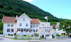 The charming and rustic Utne Hotel in# Utne, Norway @Adam Sterrett Norway