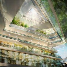 La Ciudad Sin Límite de Altura en #Londres | #arquitectura #proyectos #rascacielos #architecture