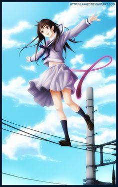 Fan Art of Hiyori Iki for fans of Noragami 37236592 Noragami Hiyori, Yatori, Anohana, Ghibli Movies, Manga Pictures, Me Me Me Anime, Anime Manga, Anime Art, Kawaii