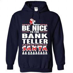 BANK-TELLER - Xmas 2015 - #hoodie refashion #white hoodie. ORDER HERE => https://www.sunfrog.com/No-Category/BANK-TELLER--Xmas-2015-8540-NavyBlue-Hoodie.html?68278