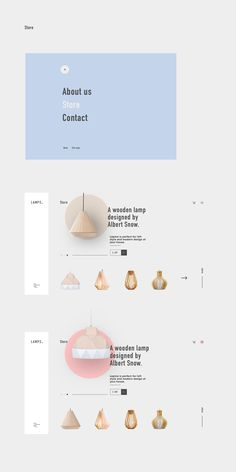 LAMPS. on Behance