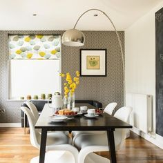 Dining area | 1960s Yorkshire house | House tour | PHOTO GALLERY | Ideal Home | Housetohome.co.uk