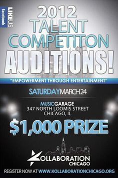 Kollaboration Chicago 7 Auditions