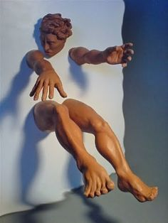 """Flying figure"", by Paul Egan & Michael Schuhhardt"