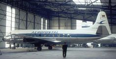 Hawker Siddeley/AVRO 748-2 Model 215 (YV-C-AMI, s/n 1578) of Aeropostal in 1970. Later converted to Serie 2A.