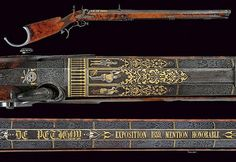 An outstanding target carbine by De Petigny, exhibited at the Industrial Exposition in 1839