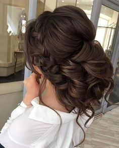 "1,283 Likes, 7 Comments - ELSTILE ™ hair&makeup (@elstilela) on Instagram: ""Wedding hair @elstilela @elstile @elstilespb ✨ Wedding hair + makeup from $350 ✨ Regular Hair and…"""