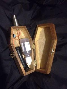 Mechanical Box Mod Coffin 18650 510 Untegulated | eBay
