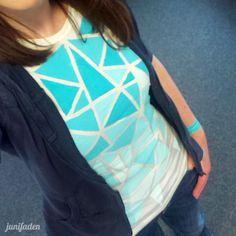 T- Shirt bemalen von junifaden