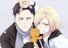 #yuri_on_ice #otabek_altin #yuri_plisetsky