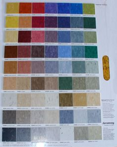 Vct Tile Colors Also We Have Below Colors Of Mannington