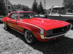 """My '69 SS/RS with 3"""" drop on DSE"""