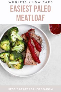 This Easiest Paleo Meatloaf is the actual…EASIEST! It's hearty, comforting   full of flavour. But it's also Paleo, Low Carb and Whole30, so everyone can enjoy it! It comes together in one bowl and is really hands off for busy nights. It's a comfort meal that the entire family will adore.