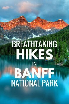 Banff National Park is home to dozens of incredible trails to hike on. If you're looking for the perfect outdoor vacation in Canada, try these hikes in Banff National Park! banff national park banff canada things to do in banff national park banff Alberta Canada, Banff Canada, Banff National Park Canada, Banff Alberta, Alberta Travel, Jasper National Park Camping, Montana National Parks, Banff Hiking, Hiking Tips