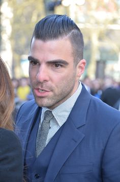 Zachary Quinto at the London Star Trek premiere