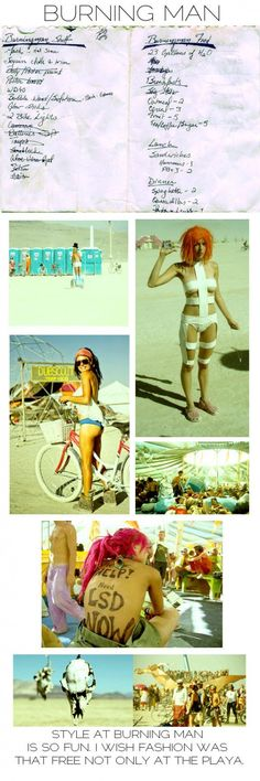 Must go to BURNING MAN!! Wish I could pull off dressing like this all the time lol