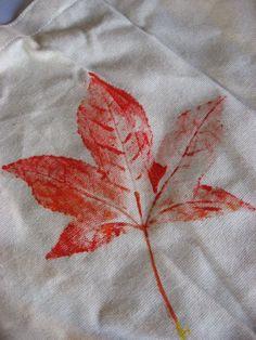 leaf prints