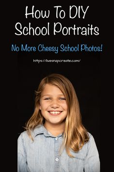 So NO to cheesy school photos! Learn how to DIY your kids school portraits with this easy 5 step process. Landscape Photography Tips, Photography Basics, Photography Tips For Beginners, Photography Courses, Photography Tutorials, Amazing Photography, Scenic Photography, Aerial Photography, Night Photography