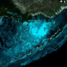 Image satellite DEIMOS-1 - Les Keys, États-Unis