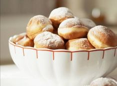 Koblihy Czech Food, Czech Recipes, Eastern Europe, Ds, Muffin, Baking, Breakfast, Sweet, Diet