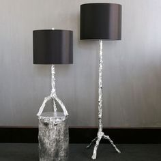 Z Gallerie Twig Lamps (Discontinued)