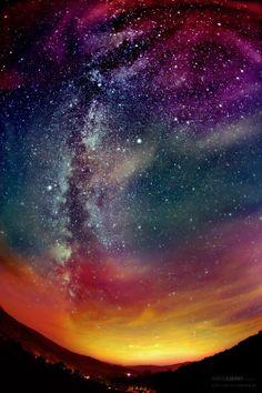 ॐ night Sky stars