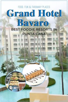 If you are looking for a Caribbean vacation with stellar food, the Grand Hotel Bavaro is one of the best resorts in Punta Cana for foodies. Best Resorts, Hotels And Resorts, Best Hotels, Adventure Tours, Adventure Travel, Adventure Awaits, Winter Breaks, Flying With Kids, Caribbean Vacations