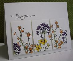 Stamping with Loll: Simply Soft Panels and Splash the Fish cards