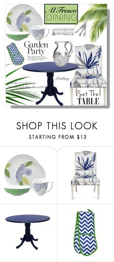 """""""Nikko Artist Floral 4-pc. Place Setting"""" by lindsayd78 ❤ liked on Polyvore featuring interior, interiors, interior design, home, home decor, interior decorating, Nikko, Massoud, INC International Concepts and Love Quotes Scarves"""